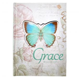 JLD 004 Notisbok Die Cut - Grace Butterfly